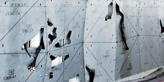 Core Wall – Rockefeller Center 67. Etage, Sonderkonstruktionen aus Michael Hammers' Schmiede Aachen – Durchdachte Werkstattplanung, perfekte Verarbeitung, passgenaue Montage. Foto: Michael Hammers Studios